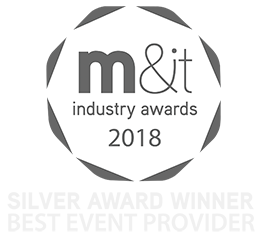 firebird event winner of M&IT best event supplier 2018